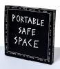 ''Portable Safe Space'' custom pizza box by The Misfortuneteller