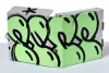 ''Bubble Tag'' custom spraypainted pizza box by Pure Evil