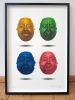 ''YOLO Buddhas'' limited edition screenprint by Richard Pendry