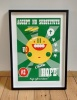 ''Hope®'' limited edition screenprint by Beyond Thrilled