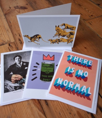 Pack of four mixed greetings cards 1