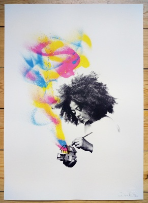 ''Homeboy'' limited edition screenprint by Donk