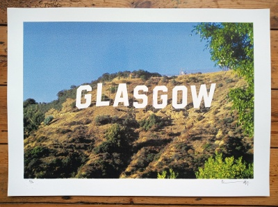 ''Glasgowood'' limited edition screenprint by Richard Pendry