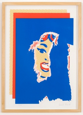''Poster Girl'' limited edition screenprint by David Shand