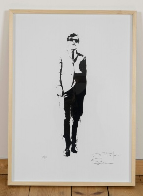 'Joe Meek' limited edition screenprint by Stewy