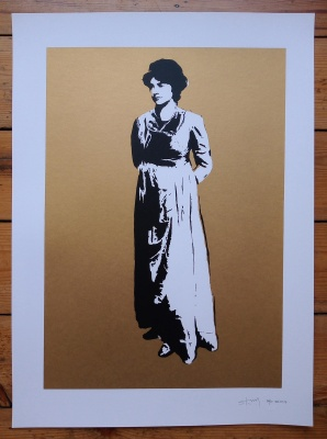 ''Mary Wollstonecraft'' limited edition screenprint by Stewy