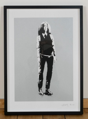 'Patti Smith' limited edition screenprint by Stewy