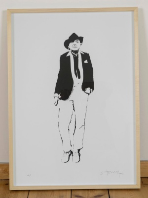 'Quentin Crisp' limited edition screenprint by Stewy