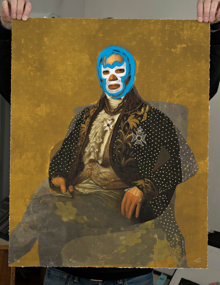 ''Jean Baud'' limited edition print by Heath Kane