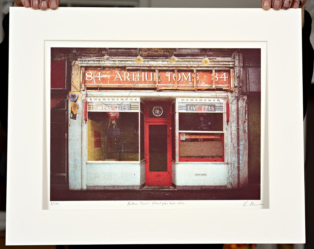 ''Arthur Toms'' limited edition screenprint by Richard Roberts